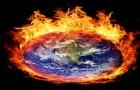 bigstock-Burning-globe-earth-west-hemi-38548153