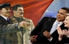 Lenin Stalin Obama Hillary